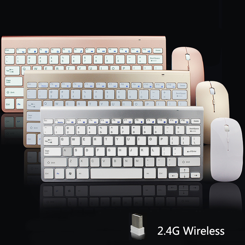 SUNGI 612 Factory Supply Portable 2.4G Wireless Keyboard and Mouse Set with USB Receiver for Home Office Use