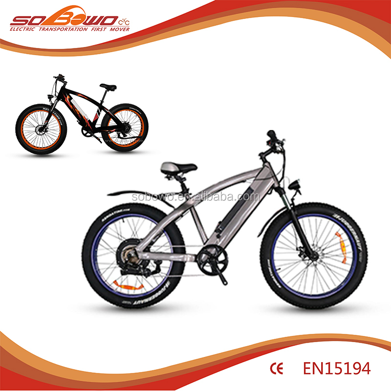 2018 Hub Motor 26 inch Urban 2 wheels electric motor bicycle electric bike 1000w