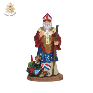 Factory direct sale craft supplies life size resin Santa Claus figurines sculpture NTRS-116Y