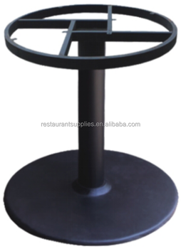 Metal Table Legs Series Cast Iron Table Base Used Restaurant Table Bases