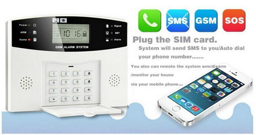 99 8 zone gsm alarm system manual