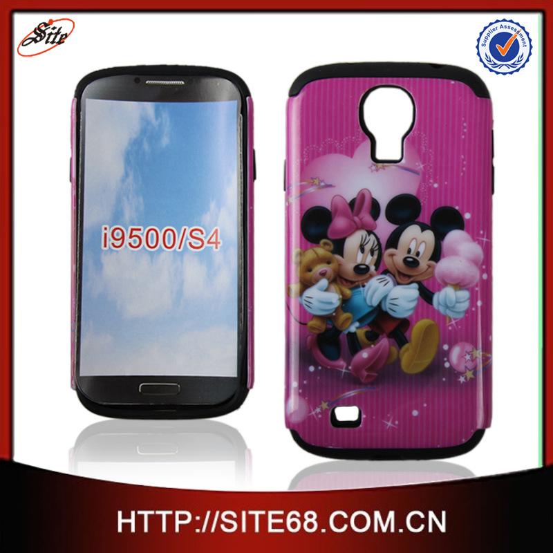 6c9d68839 Lindo Accesorios de Celulares Combo Funda Protector Cartera Estuche Forros  Diseño Estampado para Samsung Galaxy S4