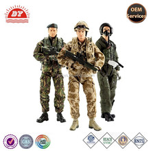 OEM plastic Handsome painting plastic soldiers