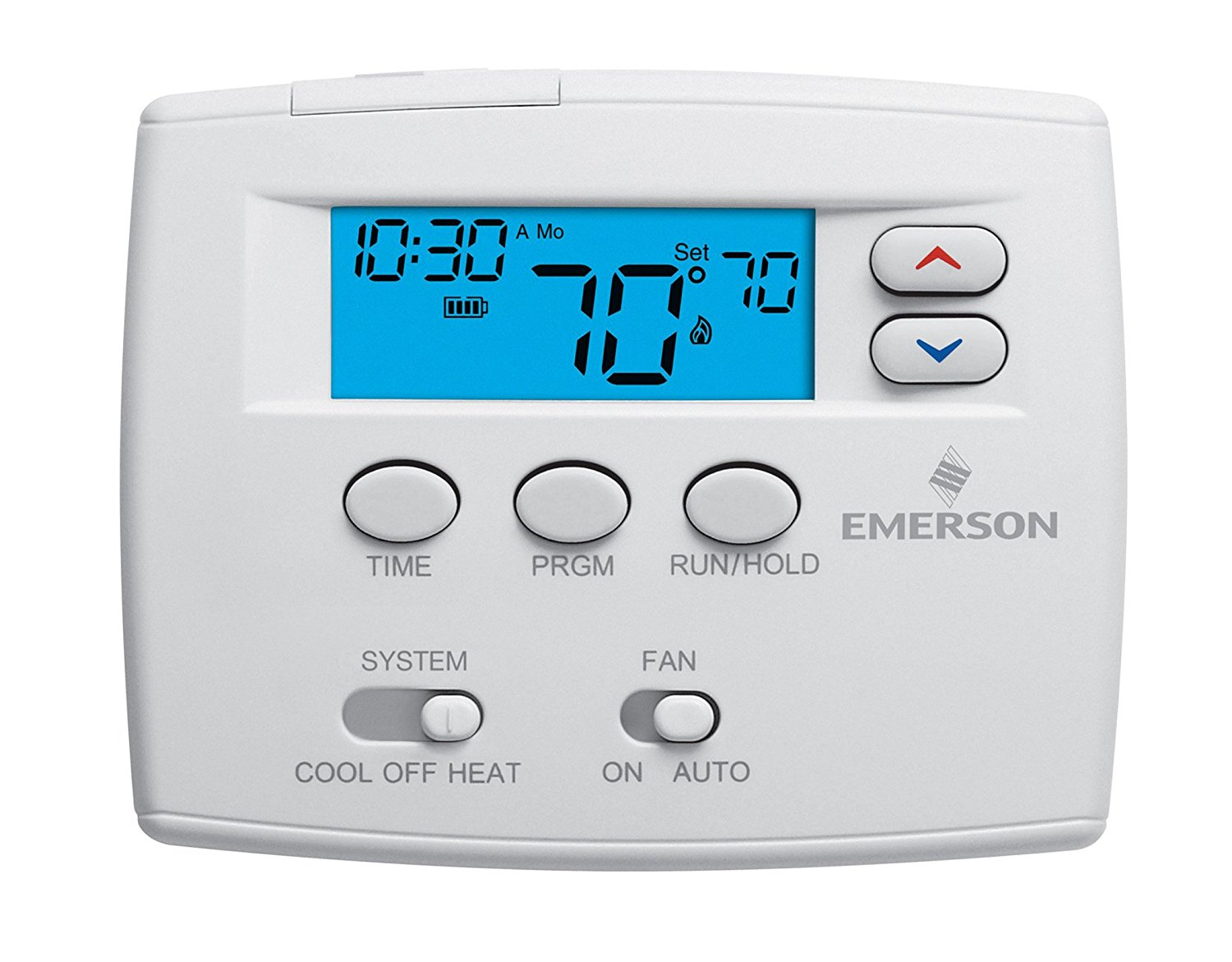 Emerson 1F80 0224 Single Stage 24 Hour Programmable Thermostat