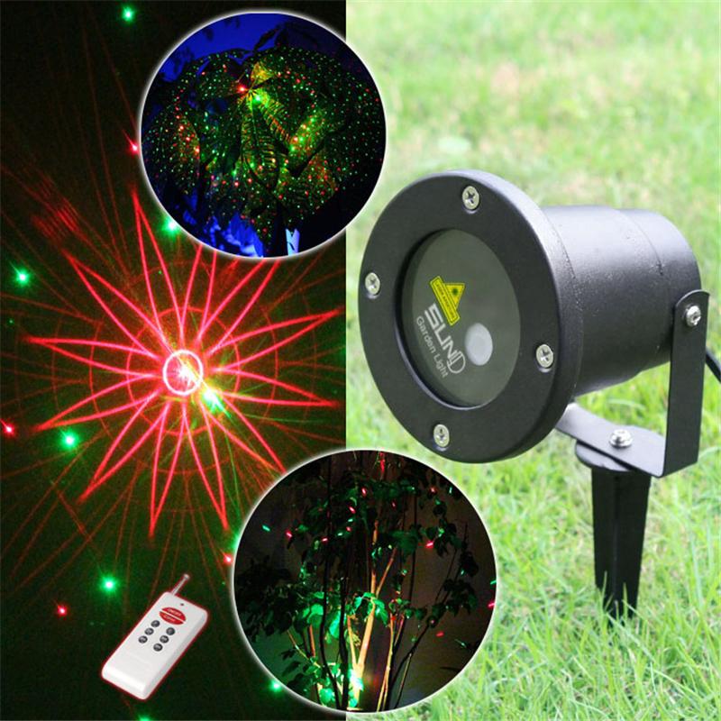 8in1 Outdoor IP65 Waterproof Laser Light,elf Light