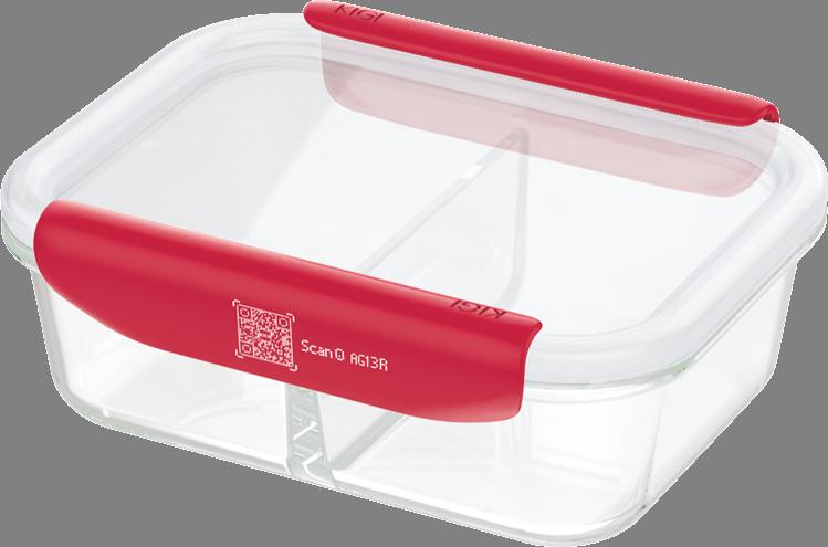पूर्व-गरम ओवन माइक्रोवेव सुरक्षित वर्ग बच्चे मिनी ग्लास खाद्य भंडारण कंटेनर सेट