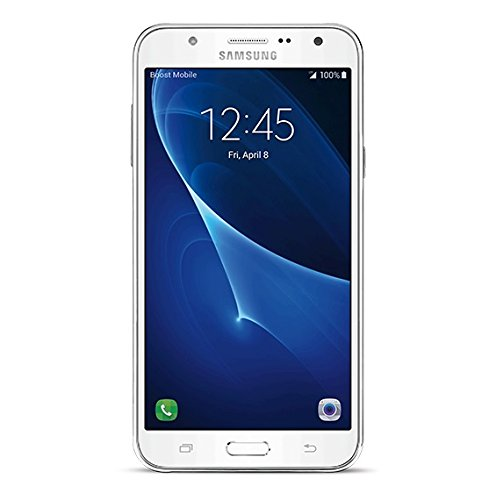 Samsung Galaxy J7 - No Contract Phone - White - (Boost Mobile)(Carrier locked phone )