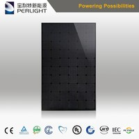 Perlight High Efficiency Top Seller All-Black Mono 270w 280w Solar Panel 1kw Solar Panel Price