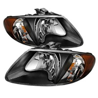 car Headlights Dodge Caravan For 2001-2007 Headlight Assembly head lamps