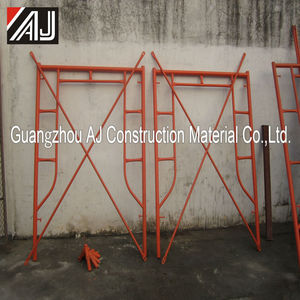 Wholesale metal q 235 h frame scaffolding from Guangzhou