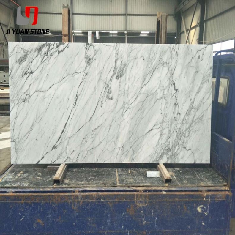 Good Price Marble White Afghanistan With Black Veins Onyx Chips Blue For Decoration