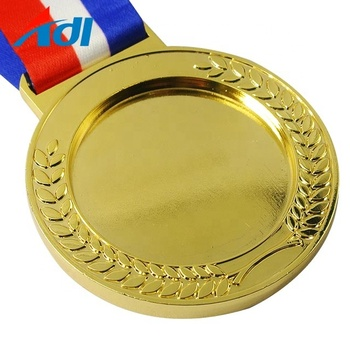 Factory custom cheap sports running competition award blank medal