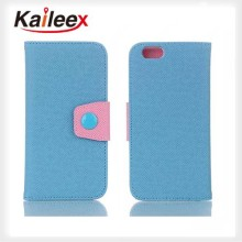 Leather Cheap Mobile Phone Case For Apple iPhone5s Flip Case