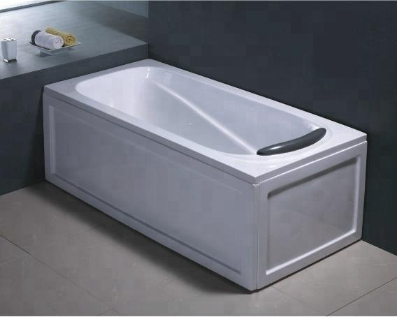 Corner Install Rectangular Acrylic Deep Soaking Bathtub Double Apron Bathtub    Buy Rectangular Acrylic Deep Soaking Bathtub,Double Apron Bathtub,Small  ...