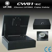 Hidden car safe box for mobile or camera