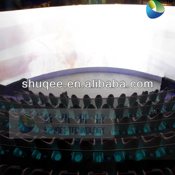 2014 new movie theater screen 4D projector cinema 3D theater system factory