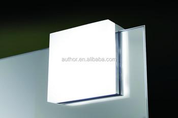 Bathroom Mirror Lamp popular indoor square mirror clip led bathroom mirror lamp - buy