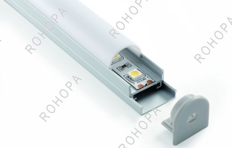 hanging ceiling led light alu profile indoor use any length available anodized aluminum extruded profile bar light