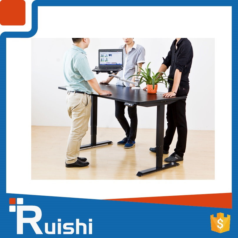 Popular in Canada and India height adjustable standing desk or table