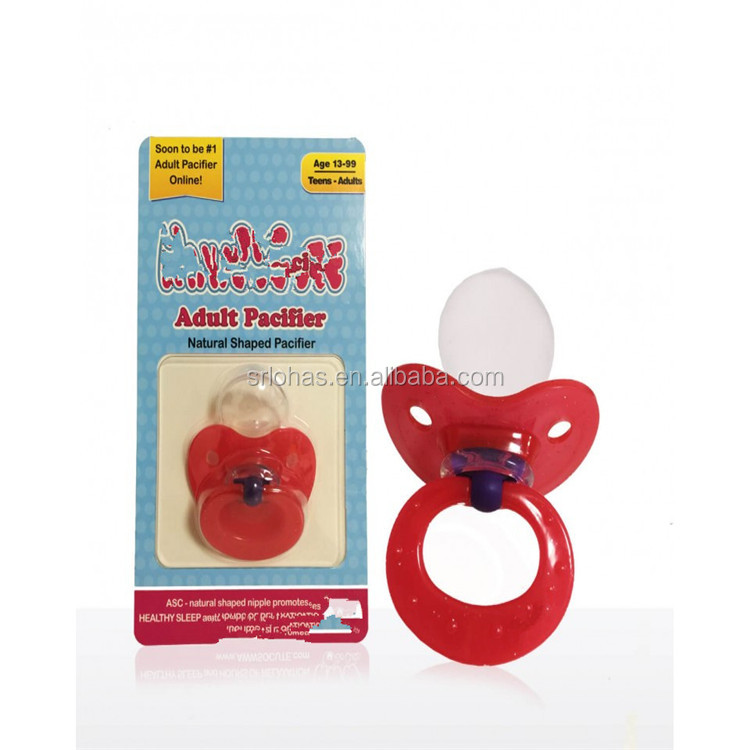 OEM adult pacifier silicone pacifier factory 2016