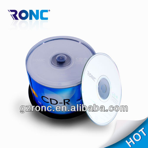 2014 700mb printable cdr CD case package 600pcs per ctn