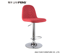 2018 Lianfeng Swivel Bar Stool modern design bar chair with footrest