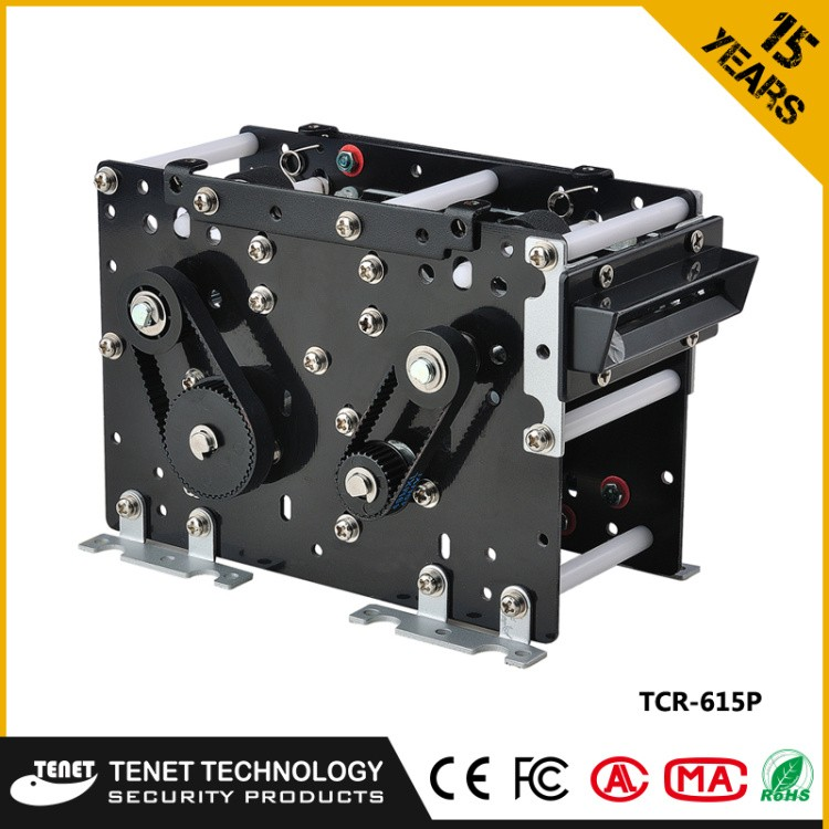 Tenet Factory Parking Exit System Automatic RFID Card Collector For Parking Ticket Collector System