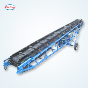 sand conveyor belt system with ISO certificate