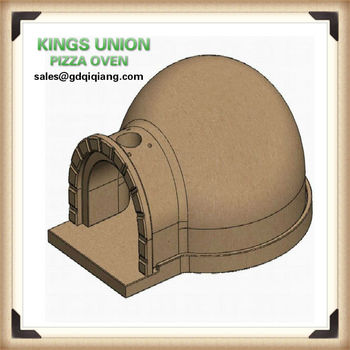 how to make a clay wood fired oven