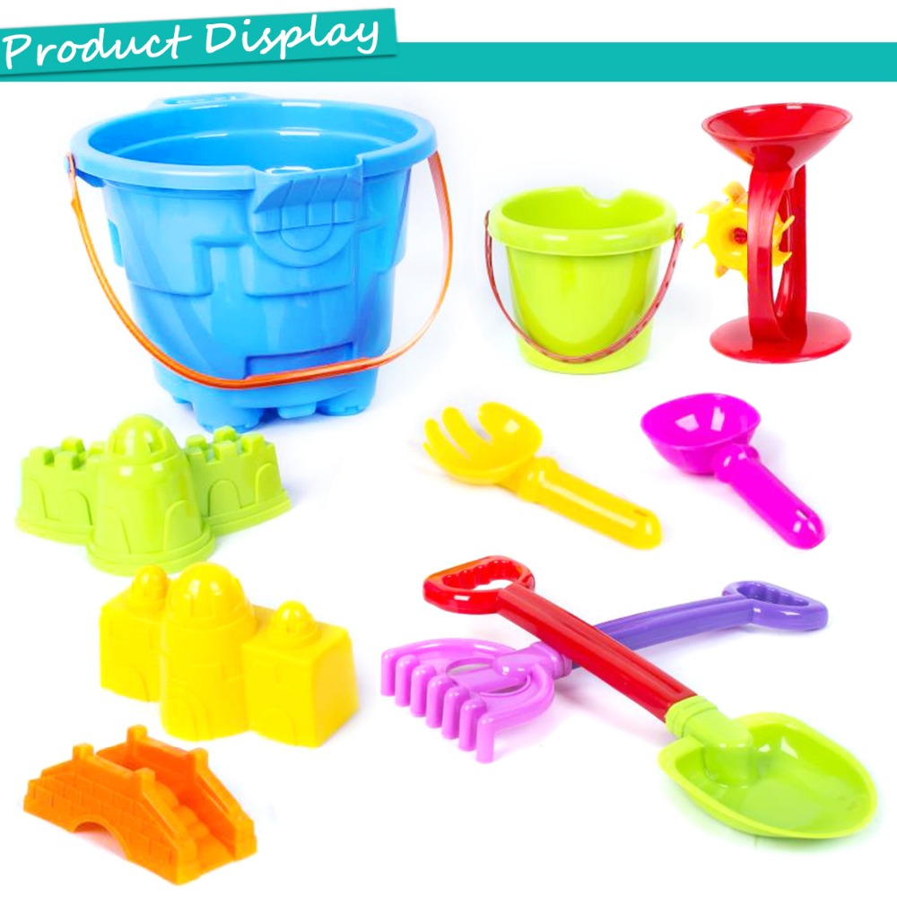 Pools & Water Fun 8pcs Joyful Outdoor Funny Creative Bucket Toy Beach Toy Set Funny Sand Swimming Water Toys For Childen Gifts Drop Shipping Wide Varieties Beach/sand Toys