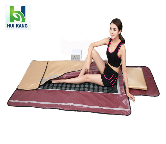 Far infrared 3 zone heating detox body wrap with factory price