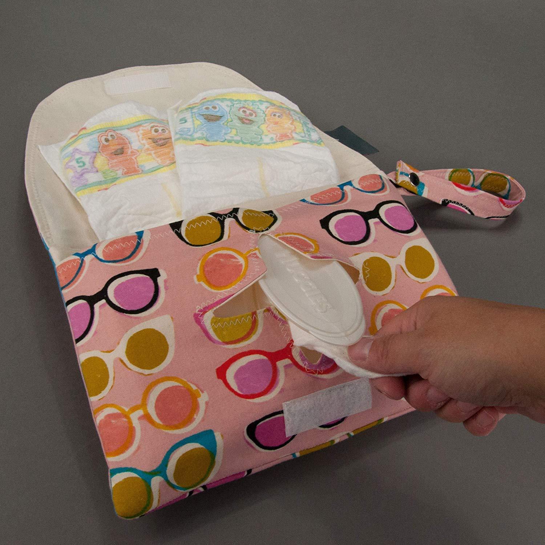 Poolside Diaper and Wipe Clutch