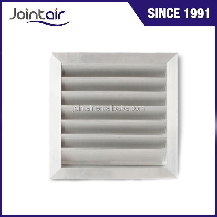 Customized Sizes Metal Weatherproof Exhaust Air Vent Louvers