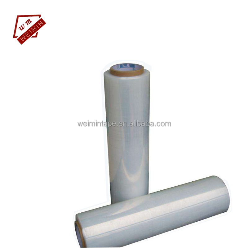 WITH HANDLES 24 ROLLS OF STRONG EXTENDED CORE BLACK PALLET STRETCH SHRINK WRAP