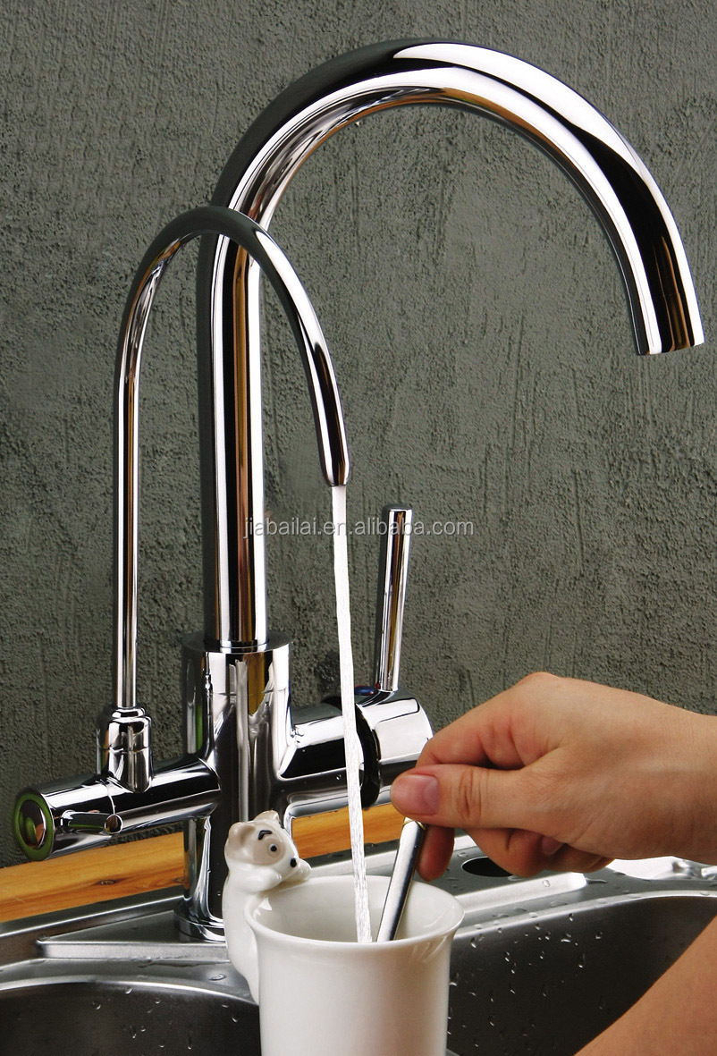 Wonderful 3 Way Kitchen Sink Tap,kitchen Faucet Mixer For Water Water Purify