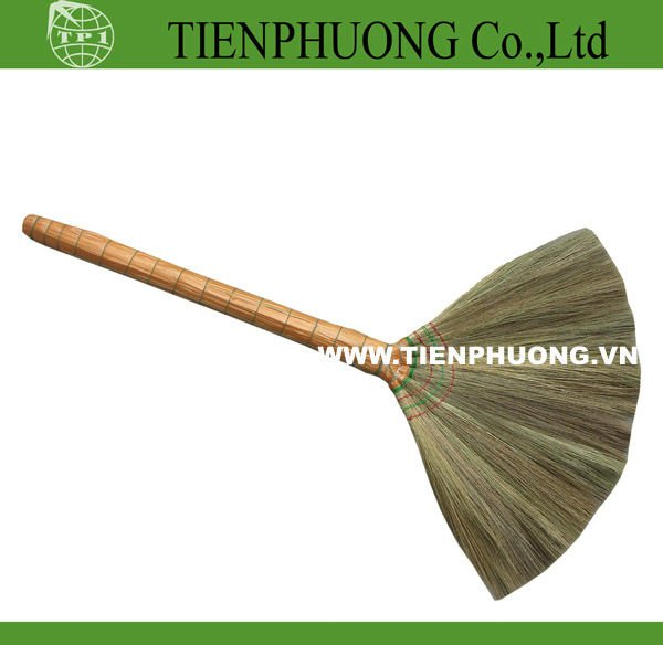cleaning grass broom with short handle/garden broom