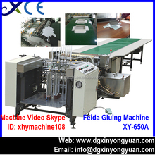 XY-650A Paper Box Making Machine Assembly Line