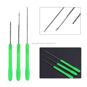 Hot Sale 3 in 1 Combo Set Carp Fishing Rigging Bait Needle Kit Tool Set Fish Drill Tackle Rigging Tool Kit With Pouch