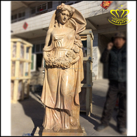 Natural marble Angel Resin Craft For Home Decoration