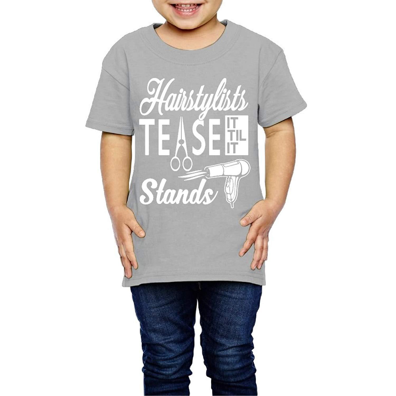 Yishuo Kids Funny Mug Funny Travel Shirt Short Sleeve RoyalBlue 4 Toddler