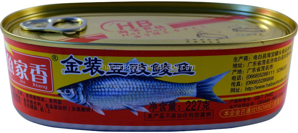 Canned Dace With Black Bean