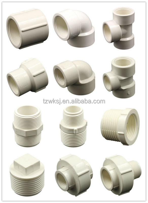 Pvc Water Systems : Water system bs thread pvc pipe fitting female union