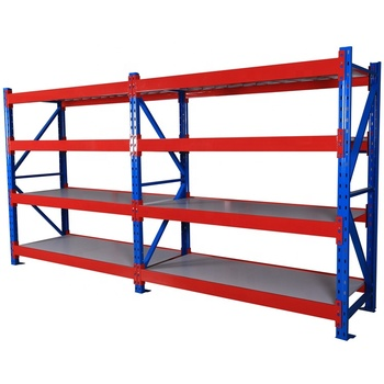Medium duty 300kg/layer warehouse rack Storage Plate W2000*D600*H2000mm