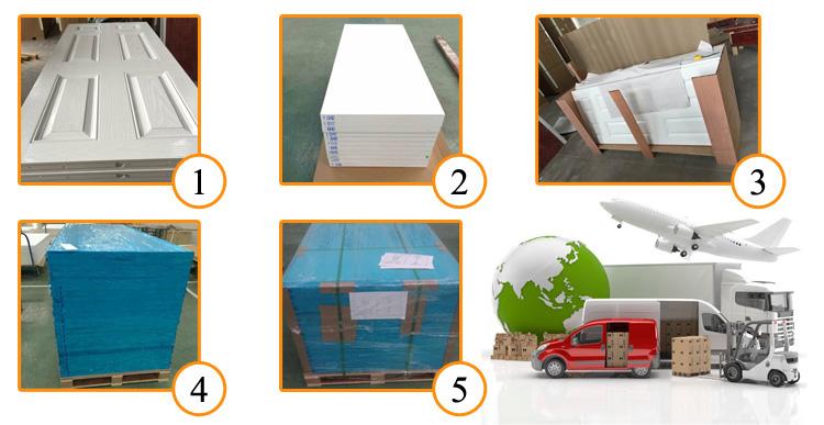 Meistverkaufte Produkte Fiberglas Composites Eingangstür zu verkaufen