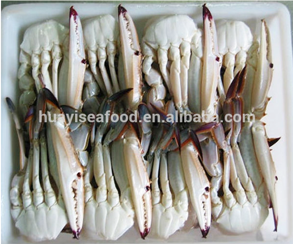 sell half cut swimming crab at factory price