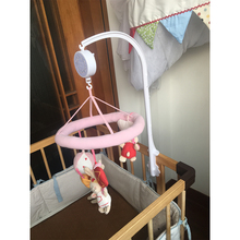 Factory Made Flower Shape Baby Crib Music Mobile And Frame Set