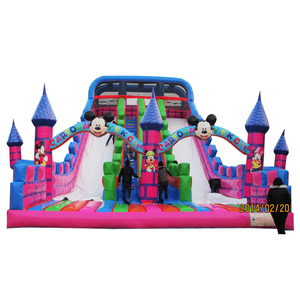 Own factory toy kids inflatable fun city games