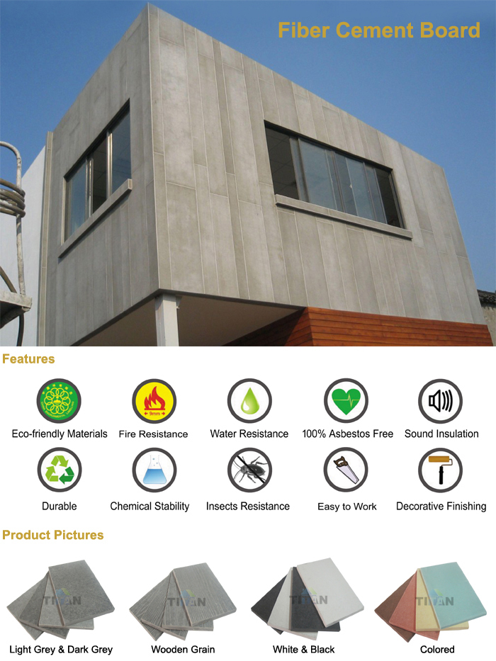 Cement Board Brand Names : Villa wall decoration fiber cement board price in
