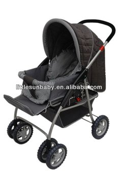 abe49e4aac3d New Style Kids Stroller baby Carriage push Chair 2-in-1 Baby Beaty ...