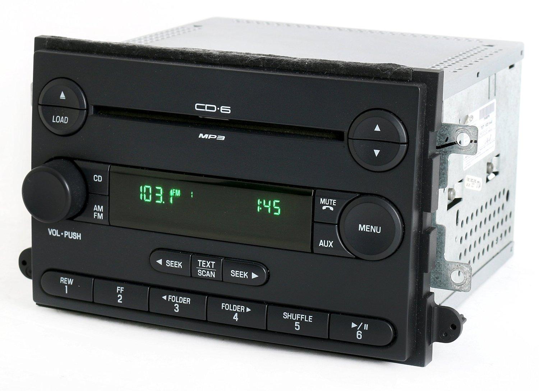 Ford Fusion 2007 Mercury Milan Radio AM FM 6 Disc CD Player Part 7E5T-18C815-AE